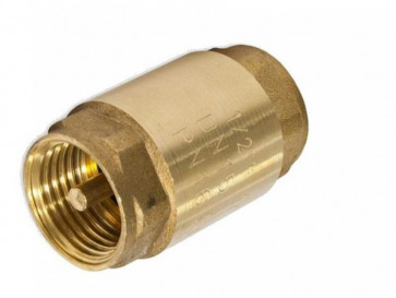 Обратный клапан 1/2  Vertum мет. седло