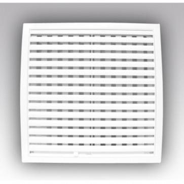 Решетка вент. 150*150 1515РРП Ivory с динамичными жалюзи, разъемн, АБС