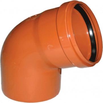 160 отвод угол 67 ПП ПОЛИТЕК (толщ 4,7мм) наруж.