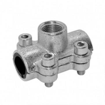 Обойма ANB c отводом и внутр.резьбой 1*3/4 GEBO (31504) (врезка)