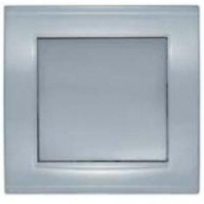 Выключатель 1кп. серебро Бриллиант СП, 10А, 220В (7949612)