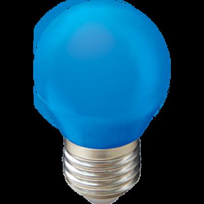 Светодиодная лампа HOROZ 1W E27 Голубая 001-017-0001
