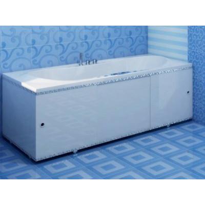 Экран для ванны ПРЕМИУМ А (алюм. профиль) 1,5 белый