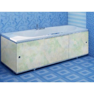 Экран для ванны ПРЕМИУМ А (алюм. профиль) 1,7 лазурь