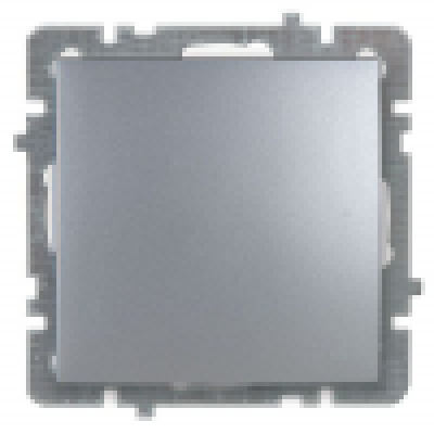 Выкл. серебро с/п 1 кл. механизм NILSON TOURAN (Thema)