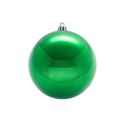 Шар Т174-8 8см (глянцевые) бледно-зеленый