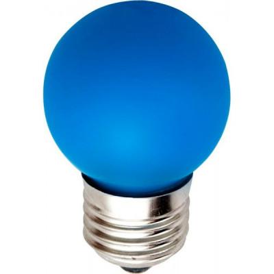 Лампа Ecola св/д шар G45 E27 5W Синий матов