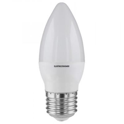 Лампа 9W Е27 6500К свеча белый Электростандарт