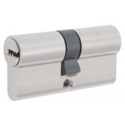 Механизм замка F 80 (40*40) перф. ключ*ключ никель Булат