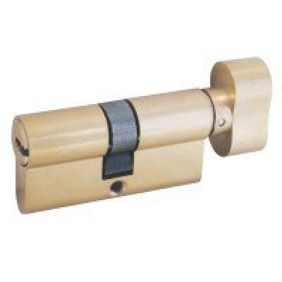 Механизм замка FL 80 (40*40) перф. ключ*верт латунь Булат