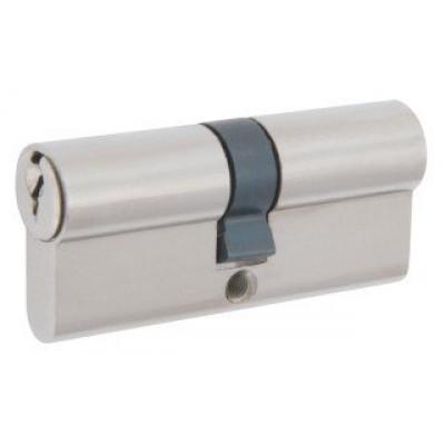 Механизм замка A 80 (40*40) ключ*ключ никель Булат
