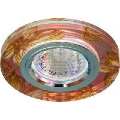 Светильник 8043-2 розовый-золото, серебро MR16 G5.3 Feron