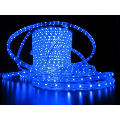 Дюралайт светодиод. LED-F3WRL, синий( плоский)