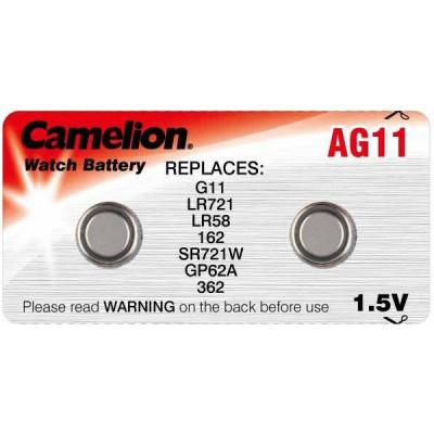 Элемент питания Camelion AG11 (362)