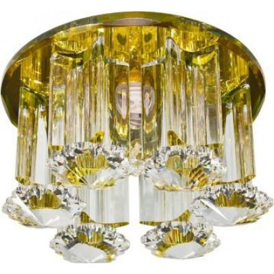Светильник 1526 желтый., хром JCD9 35W G9 Feron