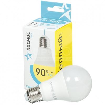 """Лампа LED 11Вт Е27 4500К""""Экономик"""" A60 Космос LkecLED 11wA60E2745"""