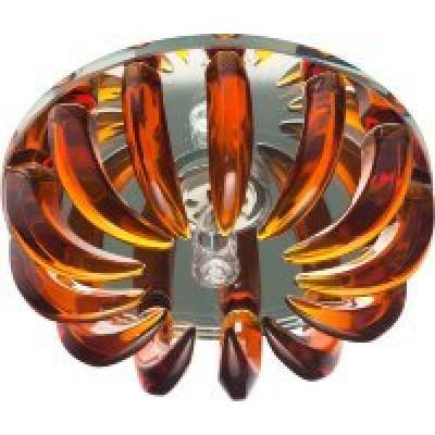 Светильник CD2529 прозр.-коричневый с лампой JCD9 35W G9 Feron