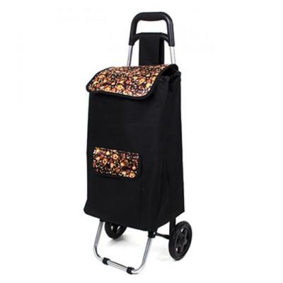Тележка + сумка, грузоподъемность до 30кг, брезент, ЭВА, 36x26x94см, колесо б15см, ZZ 304