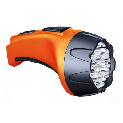 Фонарь Рекорд РМ-0115 15*LED Orange Акку прямая подзарядка