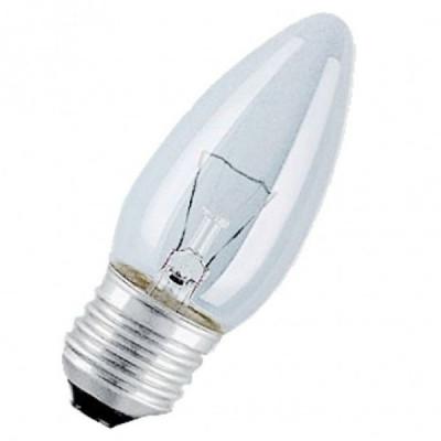 Лампа Bellight В35 60Вт Е27/ПР (ДС 230-60-Е27) свеча