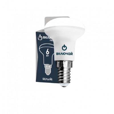 Лампа LED 8W E14 R50 3000K 220V Включай PREMIUM