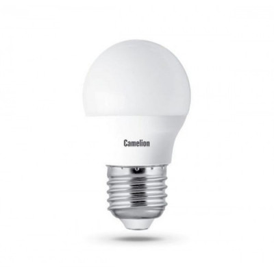 Лампа Camelion Bright G45 LED 8W E27 4500K шар