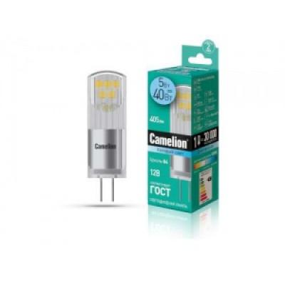 Лампа LED G4 5W 12V 4500 K Camelion