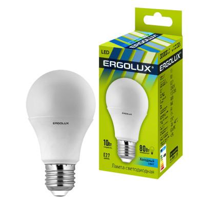 Ergolux LED-A60-12W-E27-4K Эл.лампа светодиодная ЛОН 12Вт Е27 4000К 230В