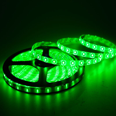 СД лента зеленый (SMD3528. LT60) IP20  12V 4,8 W/м  Feron