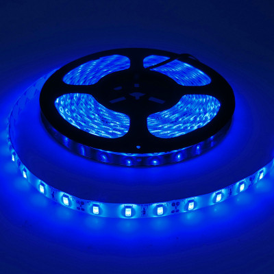 LED-лента FLS-ECO-3528 60 сд/м 4,8Вт IP20 5м синий EKF