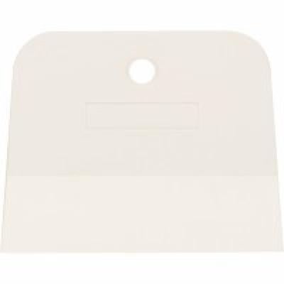 Шпатель белая резина 100 мм СИБРТЕХ