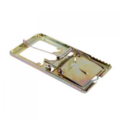 Мышеловка анодированный металл, большая 16х8,5см