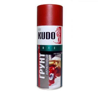 Аэрозоль грунт универсальный красно-коричневый KU-2002