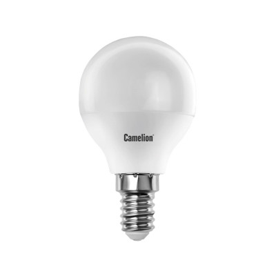 Лампа Camelion Bright G45 LED 8W E14 4500K шар