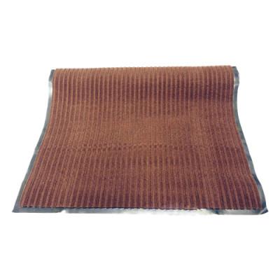 """Коврик влаговпитывающий на резиновой основе """"Черри"""" (1200х2500 мм) коричневый РТИ"""