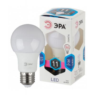 Лампа светодиодная ЭРА А60-11Вт-4000К Е27