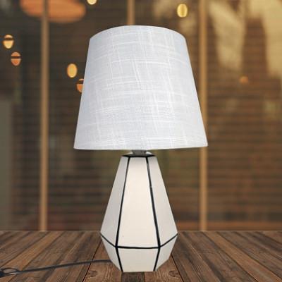 Настольная лампа AN18603/1 белый/белый абажур h35см 1х60Вт Е14 НN19