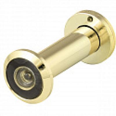 Глазок дверной DVZ1 (оптика пластик угол обзора 200) Золото