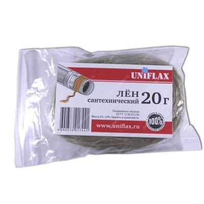 Лен сантехнический 20 г. (пакет) UNIFLAX