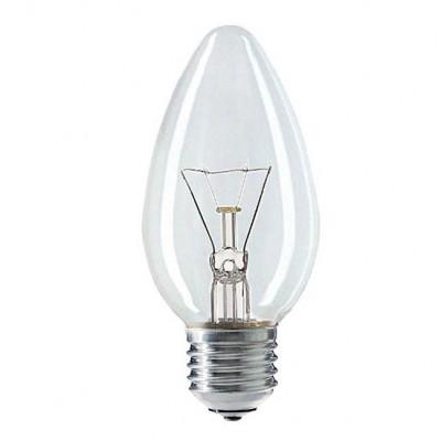 Лампа накал, Космос свеча Е27 40W прозрачная