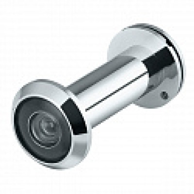 Глазок дверной DVP3/NEW 16/140/50Х90 (оптика пластик) CP Хром