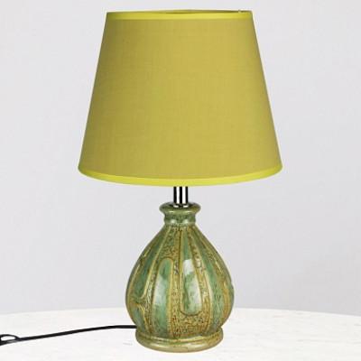 Настольная лампа DY 17593 зеленый/зеленый абажур h32cм 1x60W Е27