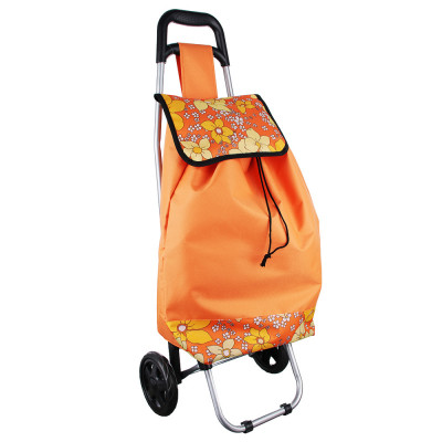 Тележка + сумка, грузоподъемность до 30кг, брезент, ЭВА, 36x26x94см, колесо d15см, WQ-11