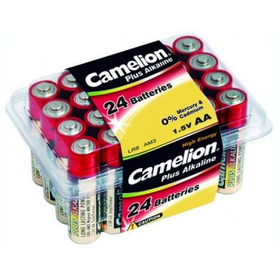 Элемент питания CAMELION LR6 пластик. бокс (24) (24/144/576)