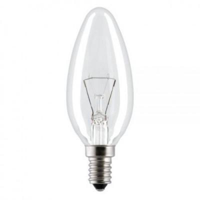 Лампа Bellight В35 60Вт Е14/ПР (ДС 230-60-Е14) свеча