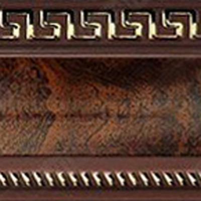 Египет карниз 3-х рядный 3,6м венге золото