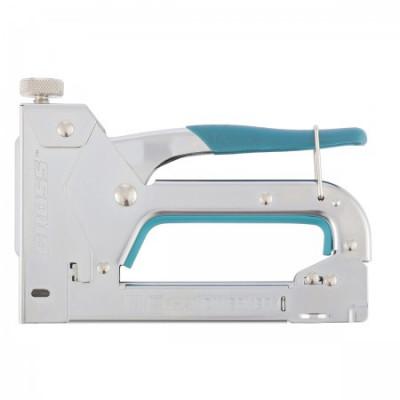 Степлер мебельный регулируемый (Handwerker), стальной корпус, тип скобы 53, 4-14 мм GROSS