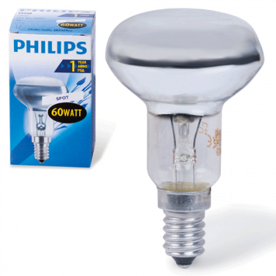 Лампа R50 60Вт Е14 PHILIPS