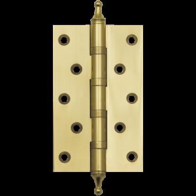 Петля AL 125мм (сталь) золото универс.