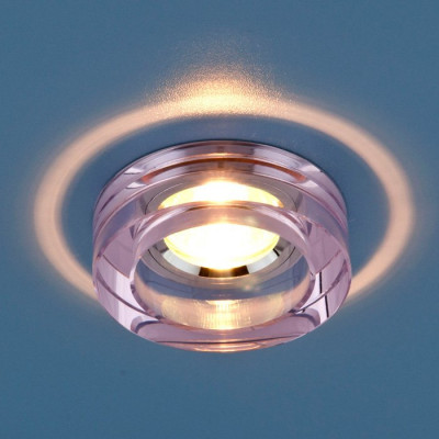 Св. глн. Электростандарт 9160 YL/SL розовый. серебр